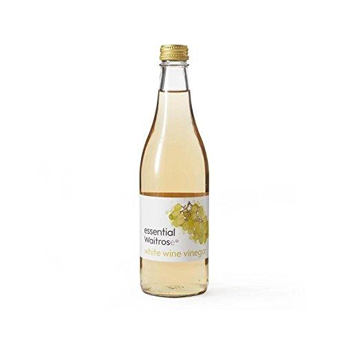 Vinaigre De Vin Blanc Waitrose Essentielle 500Ml - Paquet de 6