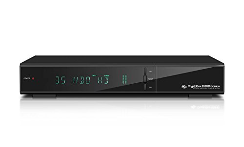 AB Cryptobox Satellite receiver combo (Full HD, DVB-S2/DVB-T2, USB, LAN) schwarz