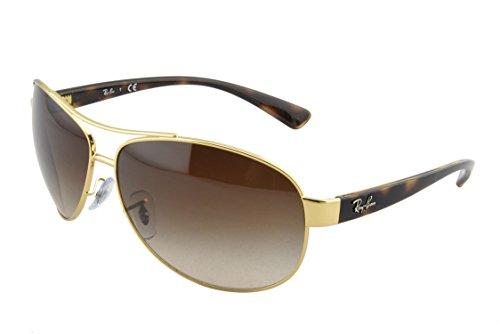 ray-ban-occhiali-da-sole-dorato