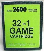 32 In 1 Game Cartridge - Atari - 2600