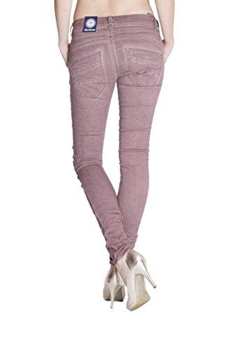 Blue Monkey Jeans - Jeans - Skinny - Uni - Femme Rose