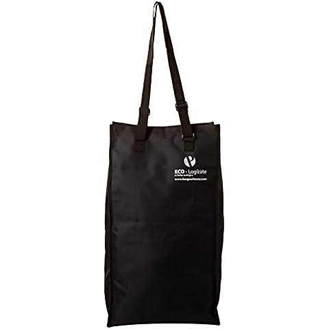 Protenrop One! - Bolsa de compra con ruedas, n38 litros, color negro