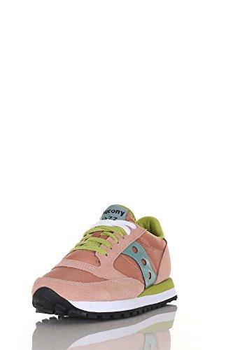 Saucony Jazz Original S1044 Sneakers Donna Rosa/verde