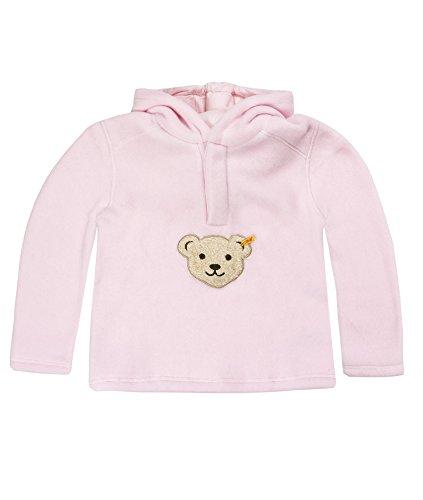 Steiff Unisex - Baby Sweatshirt 0006863, Gr. 86, Rosa (barely pink 2560)