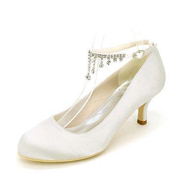 WSX&PLM Da donna-Tacchi-Matrimonio Serata e festa-Altro-A stiletto-Seta-Nero Blu Rosa Viola Rosso Avorio Bianco Dorato Champagne Argento gold