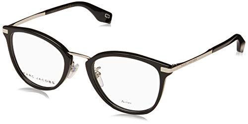 Marc Jacobs Brille (MARC-331-F 807) Acetate Kunststoff - Metall schwarz - silber