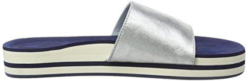 Gant - Malibu, Ciabatte Donna Argento (Silber (silver G80))