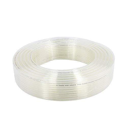 Jackbaggio Manguera De Aire De Poliuretano Para Compresor De Aire Industrial Blanco,4x2.5