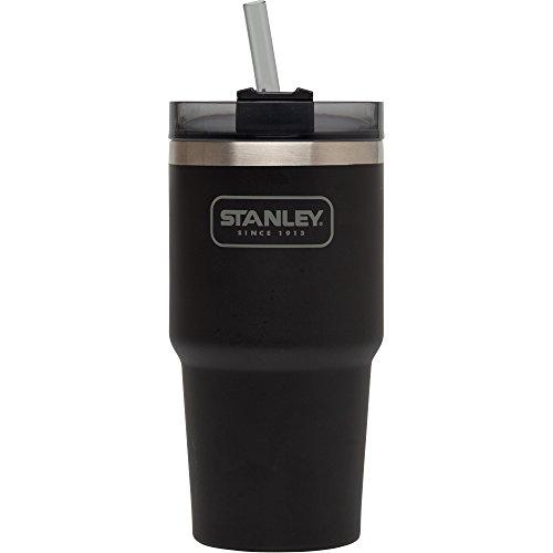 Stanley Adventure Vakuum Quencher, Herren, 10-02662-002, Matte Black, 20oz - 002 Matte