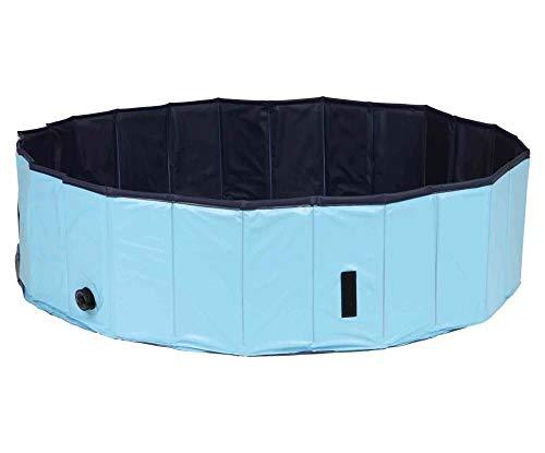 Dog Pool 160 x 30 Cm hellblau/Blau,