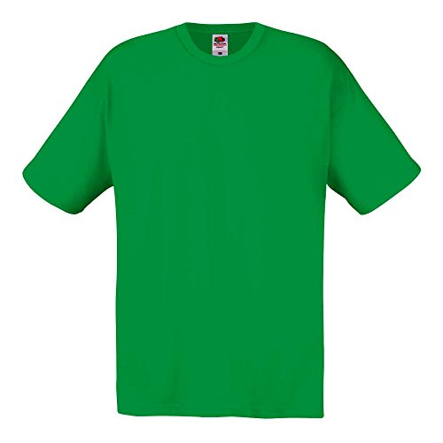Fruit of the Loom - T-Shirt 'Original T' / Kelly Green, L
