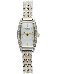 Citizen Analog White Dial Women's Watch - EZ6094-51D