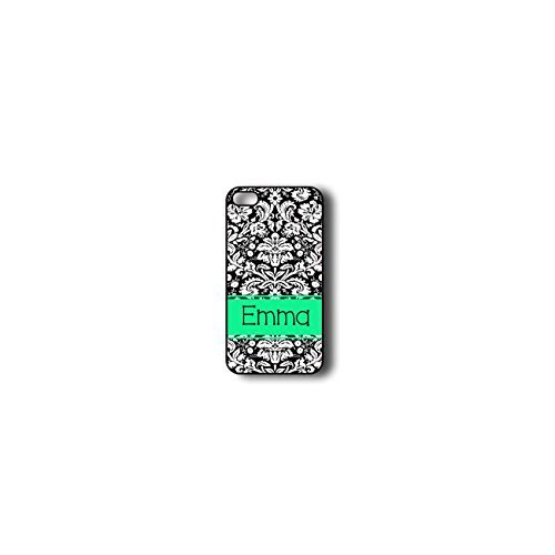 krezy monogramme iPhone 6 cas, coloré Motif damas iPhone 6 Coque Monogramme, MONOGRAMME iPhone 6 cas, iPhone 6 Coque