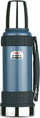 Thermos TherMax Robuste Thermosflasche, 1,2 l, blau -