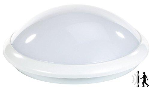 Luminea Deckenleuchte: Deckenlampe mit Radar-Bewegungssensor, E27, max. 60 W, IP44 (Lampe mit Bewegungsmelder) Radar-sensor