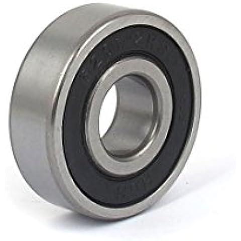 6201-2RS goma de bolas sellado radial rígido de bolas 12mmx37mmx10mm