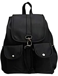 Flair Stylish Fashion Shoulder Daypacks Leather Backpack Bag for Women and Girls(Synthetic Leather)