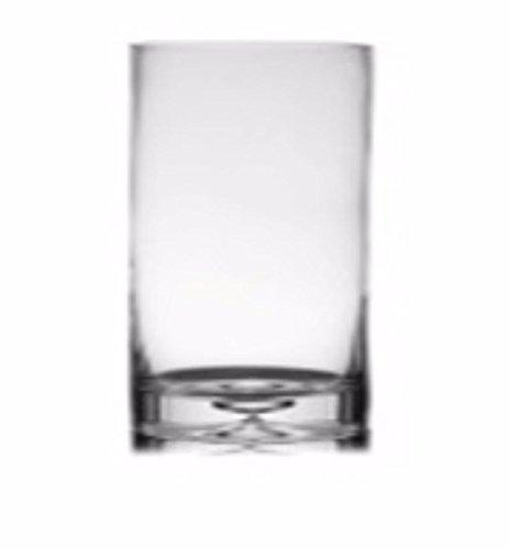 Lalco Interiors Glass Vase - (28.70 cms x 15.24 cms, Transparent)