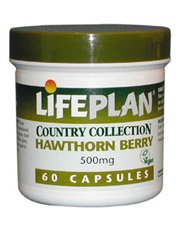 1 Pack of Lifeplan Hawthorn 500mg 60 Capsule from LIFEPLAN