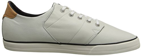 Globe Los Angered Low Hommes Cuir Chaussure de Basket white