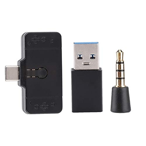 NITRIP kopfhörer konverter USB universal Bluetooth Headset Adapter 5 v / 9 v / 12 v / 15 v für ps4 / Switch/pc (Headset-bluetooth-konverter)