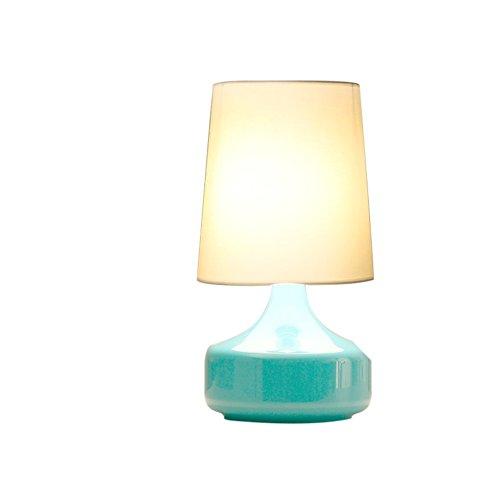 lampada da comodino occhio creativo/ Nordic camera da letto luce/Salotto moderno e semplice panno decorativo lampada-E