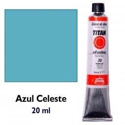 ÓLEO AZUL CELESTE TITAN Extrafino 6 - 20ml. Nº 49