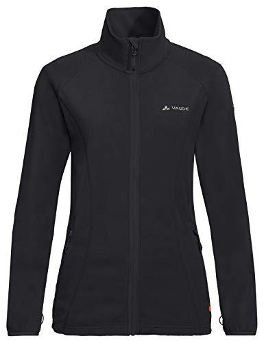 Vaude Damen Women's Sunbury Jacket, leichte Fleecejacke Jacke, Black, 38