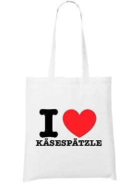 I Love Käsespätzle Bag White