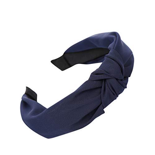 EERTX - ♛♛ Haar Stirnband Damen Haarband Yoga Headband Hairband Frauen Stoff Haarreif mit Schleife-Vintage-Wunderschön Stirnband,Haarschmuck Haarreif mit Schleife-Vintage-Wunderschön Stirnband Ace Vintage Hut