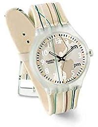 Reloj SWATCH Touch stbk100 al cuarzo (batería) plástico quandrante bicolor ...