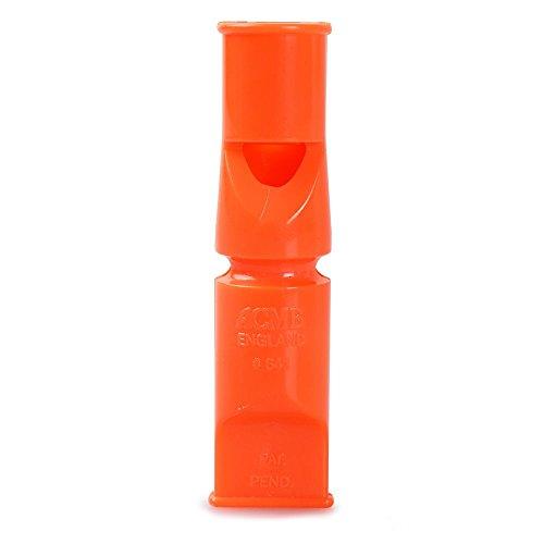 Acme Doppelton Hundepfeife 641 / orange / 6 cm - 4