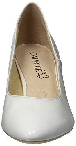 Caprice Damen 22401 Pumps Weiß (White Nappa 102)