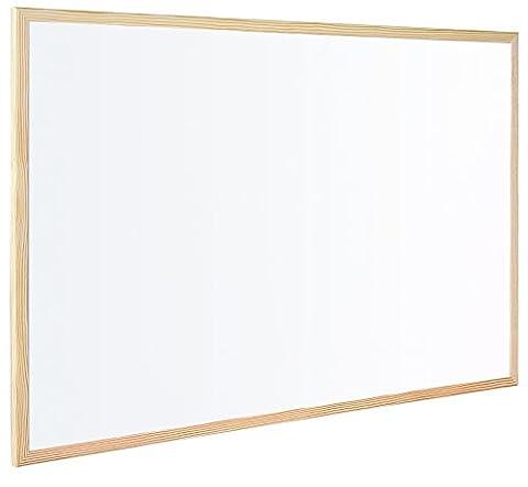 Bi-Office Tableau Blanc Magnétique, Surface en Acier