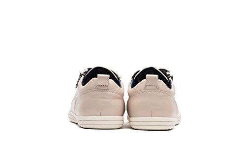 OPP Mode Homme Chaussures de Ville Noir Nouvelle 2018 Blanc