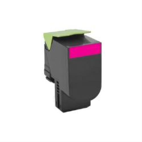 Preisvergleich Produktbild Lexmark 80C20M0 Return Program Toner Cartridge, magenta