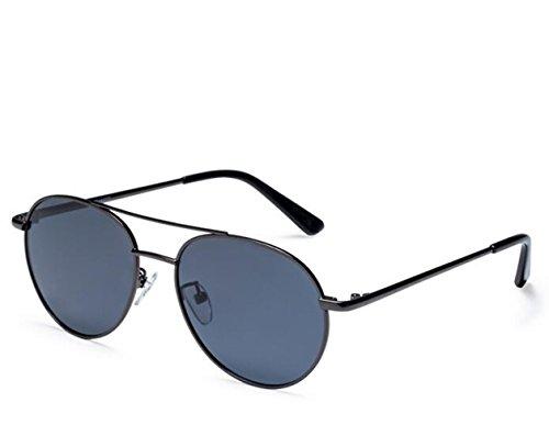 Fashion Color Film Polarisierte Sonnenbrillen Sonnenbrillen, Pistole Mit Großem Rahmen Rahmen/Grau Film ()