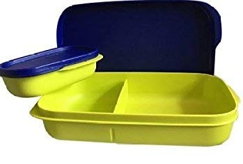 Tupperware Mylunch Medium Plastic Tiffin Box, 500ml (Green)