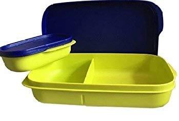 Tupperware Mylunch Medium Plastic Tiffin Box, 500ml (Green)
