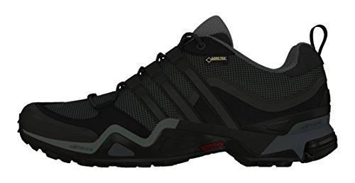 adidas Herren Fast X GTX Wanderschuhe Black