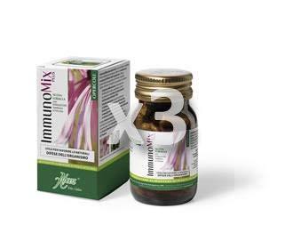 ABOCA - IMMUNOMIX PLUS 50 OPERCOLI DA 500 MG (3 CONFEZIONI), efficace, naturale, benessere quotidiano - [KIT CON SAPONETTA NATURALE QUIZEN IN OMAGGIO]