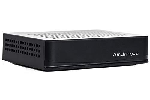 LinTech AirLino® pro HiFi Multiroom Audio Empfänger/Receiver & Sender mit LAN, Bluetooth aptx, 2.4/5 GHz WLAN (AirPlay, DLNA, UPnP, WiFi, Internetradio, NAS, USB, Line-IN, LAN, Tidal, Spotify, Qubuz)
