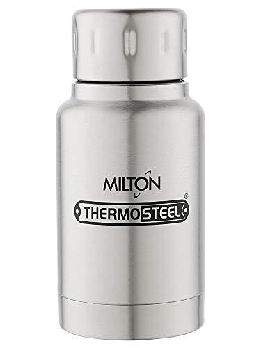 Milton Elfin Thermosteel Flask Flask, 160ml (EC-TMS-FIS-0051!_Steel),Stainless steel