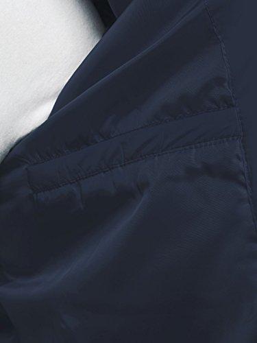 OZONEE Herren Winterjacke Steppjacke Sweatjacke Wärmejacke Jacke Parka Gesteppt J.STYLE 505 DUNKELBLAU M - 5