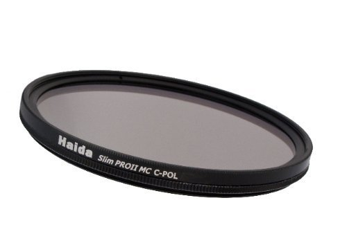 Haida Pro II Digital Slim Polfilter Zirkular MC (multicoating) - 55mm - inkl. Cap mit Innengriff