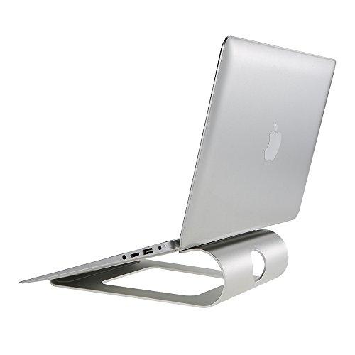 Docooler Ergonomisches Design Aluminium Laptop Ständer Schreibtisch Dock Halterung Halter Kühler Pad für MacBook Pro/Air/iPad/iPhone/Notebook/Tablet/PC/Smartphone