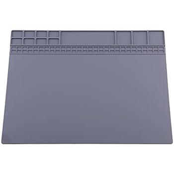 Magnetisch Silikonmatte Wärmeisolation Lötmatte Wartung Plattform 350*250mm NEU