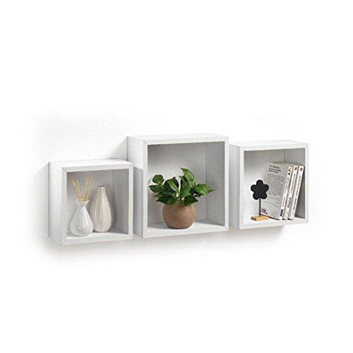 Modul'Home 6RAN789BC - Mensole a cubo, in MDF, 11,8 x 30 x...