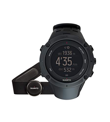 Suunto - Ambit3 Peak Black HR - Reloj GPS Multideporte +...