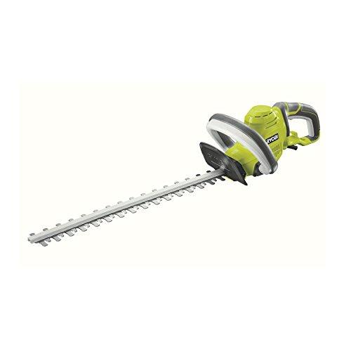 Ryobi RHT5150 RHT5150-Cortasetos eléctrico (espada de 50 cm, capacidad de corte de 22 mm, 500 W, Negro, Verde, Gris